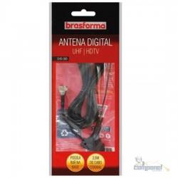 Antena Shd-300 Sinal Brasforma Int C/ Cabo 2.5mt